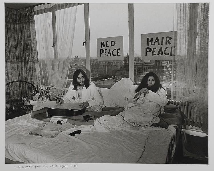 Tony GRYLLA (Né en 1941) John Lennon & Yoko Ono