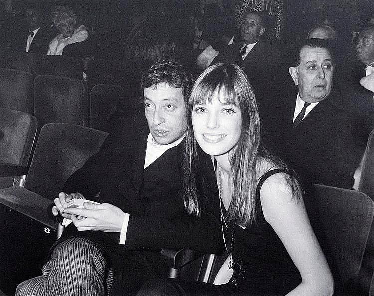 Tony GRYLLA (Né en 1941) Serge Gainsbourg et Jane