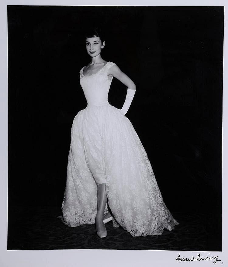 Henri ELWING (Né en 1925) Audrey Hepburn Tirage