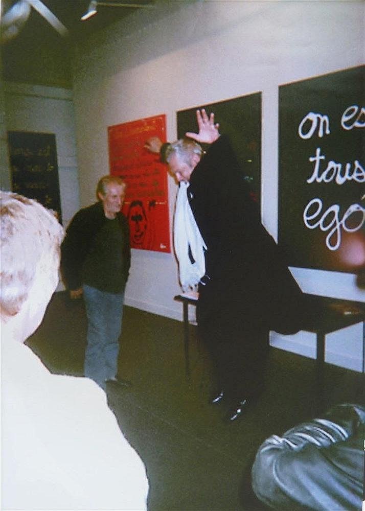Jorge GALEGO (Né en 1961) Le saut de Ben...à la FIAC de Paris en 2008 Tirag