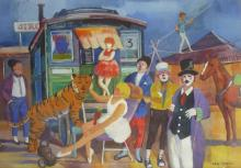 Vilmos ABA-NOVAK (1894-1941) Le cirque