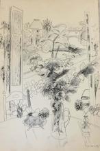 Jules CAVAILLES (Carnaux 1901 - Epineuil 1977) Bouquet de fleurs