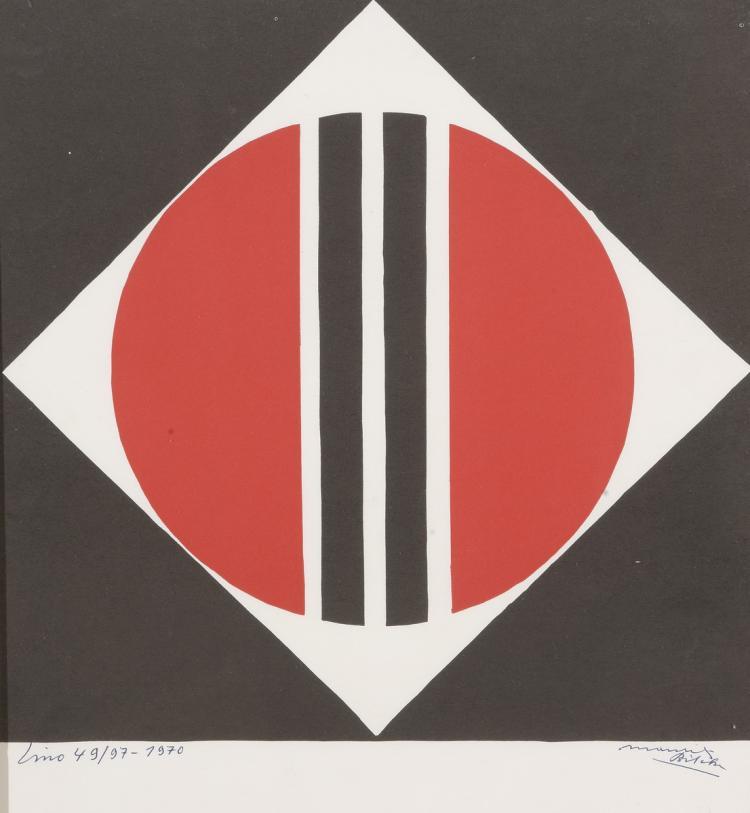 Maurits BILCKE (1913-1993)   Abstraction géométrique