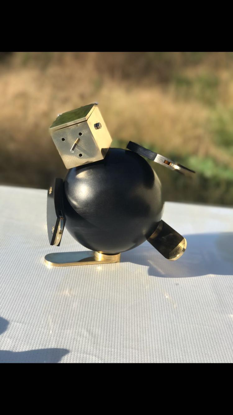 FONCKY-TWO (Né en 1977)  Robot