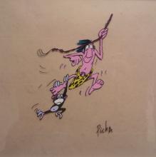 PICHA (Jean-Paul Walravens, dit) - Tarzoon, la honte de la jungle,1975