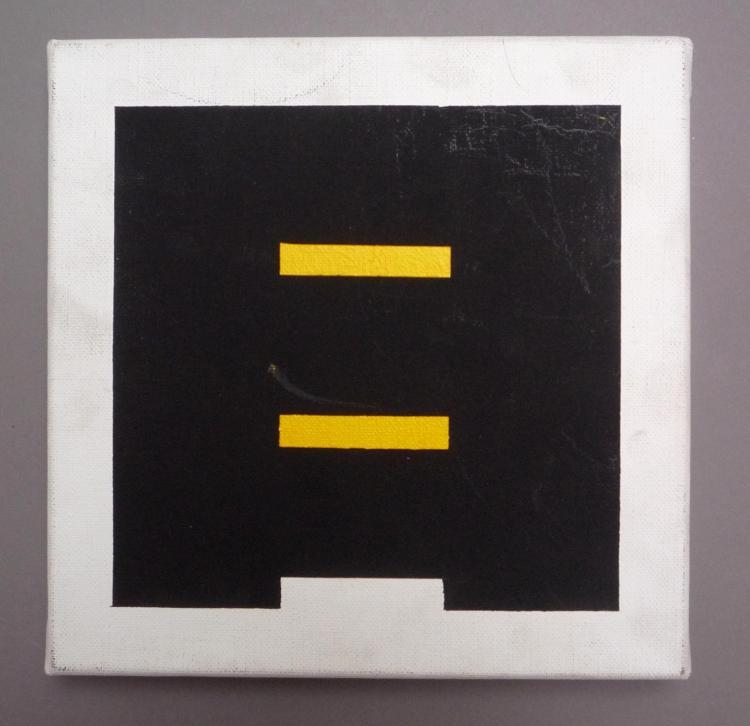 Roland OREPÜK (Né en 1950)  Composition géométrique