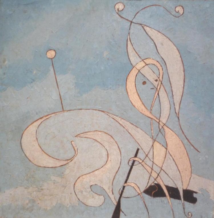 Denise MANNONI (Née en 1918)  Sans titre