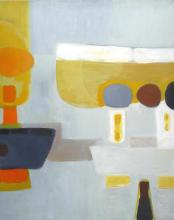 Sigismond KOLOS-VARY (1899-1983) Composition abstraite,1975