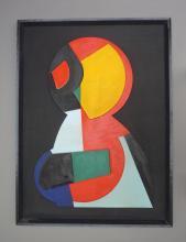 Etienne BEÖTHY (1897-1961) Composition abstraite, 1949