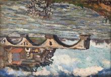 Adolphe CLARY-BAROUX (1865-1933) Le pont