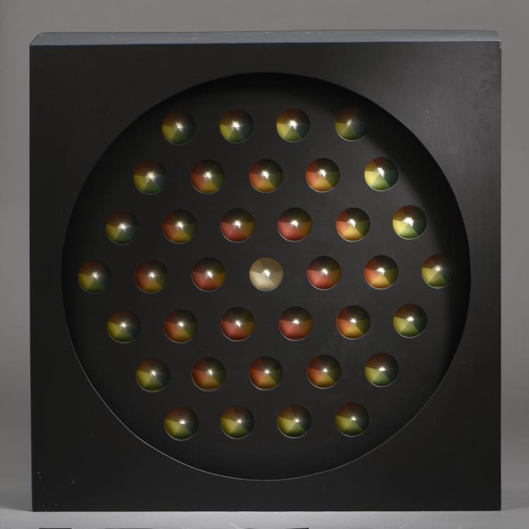 Jacques MARTIN (Né en 1945)  Espaces Chromatiques n°26, 1979
