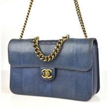 Chanel Lizard Perfect Edge Handbag
