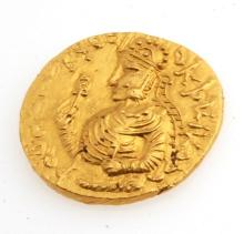 Ancient Kushan Gold Coin