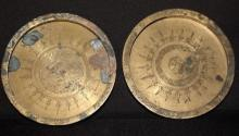 Old Islamic Plates w. Patina