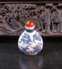 Old Collectible Chinese Porcelain Blue & White  Old Collectible Chinese Porcelain Blue & White
