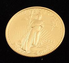 Gold Coin: 1996 American Gold Eagle