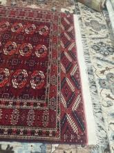 Antique Afghani Rug Carpet