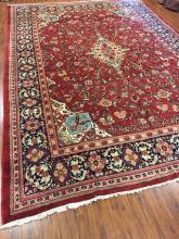 Antique Mahal Persian Rug #594