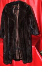 Fine Vintage Black Mink Coat (Fur)