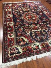 Antique Persian Bakhtiari Rug #564