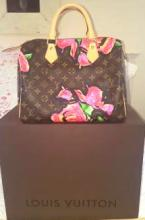Louis Vuitton Rare Limited Edition Roses Speedy STEPHEN SPROUSE