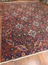 Antique Persian Bakhtiari Rug #602