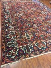 Antique Persian Bakhtiari Rug #616