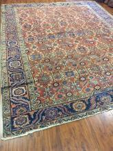 Antique Persian Heriz Rug #591
