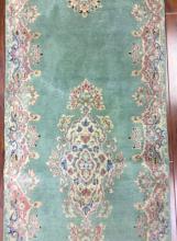 Antique Persian Kerman Runner Rug #230