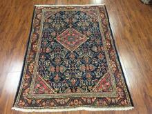 Antique Persian Mahal Rug #370