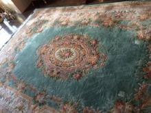Fine Chinese Rug Colorful Pastels 14x10