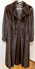 Luxurious Full Length Mink Coat