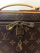Authentic Louis Vuitton Vanity Handbag