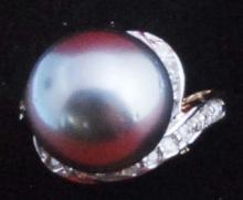 14K Gold Tahitan Pearl Ring