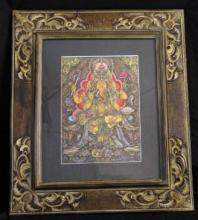 Old Indonesian Color Work Ganesh Ancestral Figure