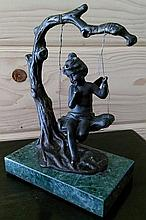 Antique French Bronze by Auguste Moreau