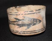 Ancient Indus Valley Ceramic Bowl 4x3