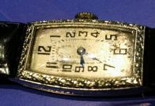 18K Gold Bailey & Banks Watch c1940