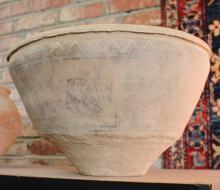 Ancient Harappan Ceramic Bowl: Artifact of Indus Valley