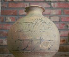 Ancient Harappan Ceramic Vase: Artifact of Indus Valley