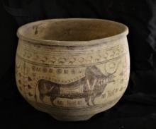Ancient Indus Valley Ceramic Bowl Large