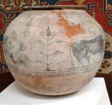 Ancient Indus Valley Ceramic Pot