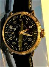 14K Gold Hamilton Pilot Watch c1910