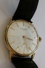 Vintage Patek Philippe Watch 18K Gold Calatrava
