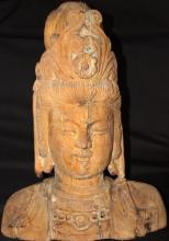 Ancient Chinese Buddha Bust