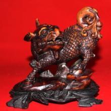 Ancient Chinese Jade Kirlin Lion Sculpture