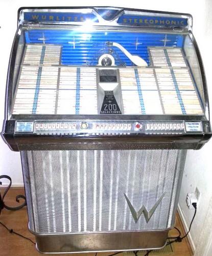Rare c1959 Wurlitzer Jukebox