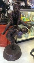 Vintage French Bronze Sculpture (7)