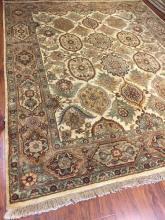 Indian Origin, Handmade of Wool Rug #551