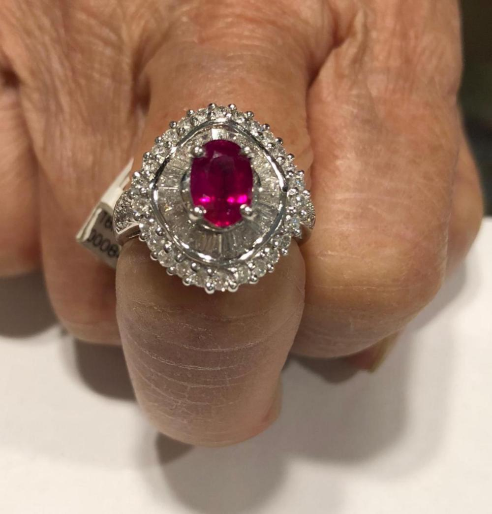debc45e39 Ruby Rings for Sale: Online Auctions | Buy Ruby Rings